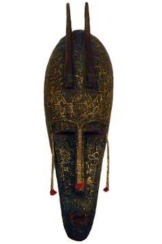 SOLD Bambara Marka African Tribal Mask 18