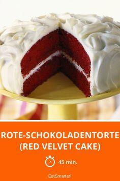 Rote-Schokoladentorte (Red Velvet Cake) - smarter - Zeit: 45 Min. | eatsmarter.de