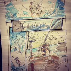 From a #storyboard #panel at #nycc learned a LOT from this panel. #Padgram