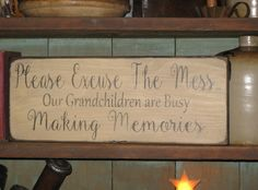 This would be an adorable gift for a grandma on Mother's Day! It is designed, handmade, and distressed by SignsByLiz on #scottsmarketplace. Such a cute saying.