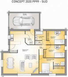 Attractive Plan Maison Neuve à Construire   Maisons France Confort Concept 2020   99