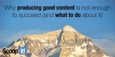 Brand, Ideas, Story, Style, My Life: Why producing good content is not enough to succee. Lead Generation, Enough Is Enough, Perfect Body, Content Marketing, You Can Do, My Life, Travel, Diet, Style