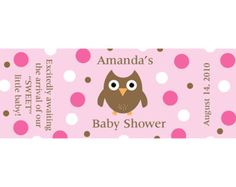 24 Personalized Baby Shower Advice Cards AHOY by partyplace
