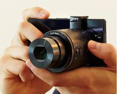 Sony Smartphone Attachable Lens - attach to your smartphone to take zoom pics