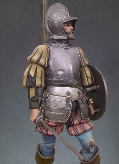 Conquistador (Mexico, 1519) S8-F02 90 mm 1/18 | Classics in 90 mm | Andrea Miniatures | Andrea Europe