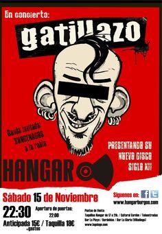 Entradas para Gatillazo + Kondenados a la Rabia en Burgos el 15 de noviembre 2014 en notikumi