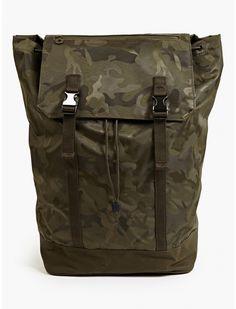C6 Men's Khaki Camouflage Backpack   oki-ni