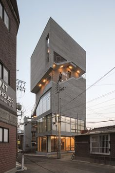 house ideas new Architecture Design, Office Building Architecture, University Architecture, Building Facade, Facade Design, Building Design, Retail Architecture, Unique Buildings, Beautiful Buildings