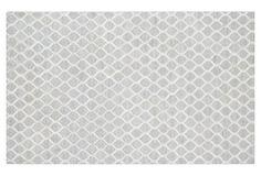 Audrey Sari Silk-Blend Hide, Silver