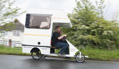 Andy Saunders' Bicycle RV