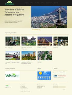 Website da Volkstur Turismo