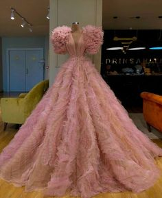 A-line Pink Tulle Long Elegant Unique Modest Long Prom Dresses, Ball gown Gala Dresses, Event Dresses, Couture Dresses, Fashion Dresses, Formal Dresses, Straps Prom Dresses, Club Dresses, Dress Dior, Dress Up