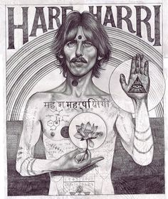 GeorgeHarrison Illustration by John Paul Thurlow
