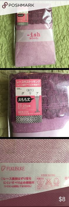 Stocking Stocking for feet size 23-25cm(M-L). Made in Japan -ish Accessories Hosiery & Socks