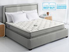 Sleep Number® c2 bed: Welcome to adjustable comfort and support with the bed that launched a sleep revolution. Our original bed offers breakthrough comfort for both of you with an updated look and whisper-quiet remote. #TopRatedGifts #PerfectForCouples