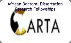 African doctoral dissertation research fellowships address