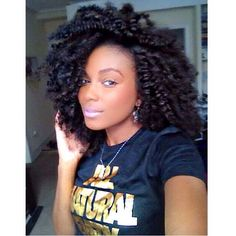 Crochet Braids Curly Afro : Hair on Pinterest Crochet Braids, Natural Hair and Afro