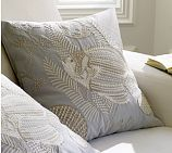 Underwater Fish Embroidered Pillow Covers