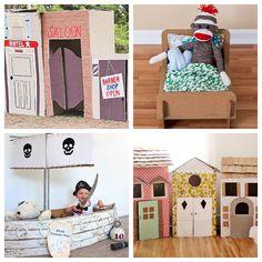12 DIY Cardboard Box Projects