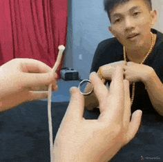 Magical rope and ring