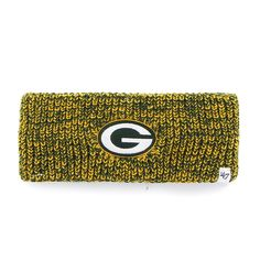 Green Bay Packers Prima Headband Dark Green 47 Brand Womens Nfl Green Bay 89340f702