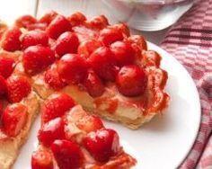 Tarte aux fraises (facile, rapide) - Une recette CuisineAZ