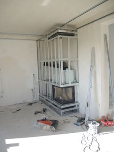 Home Fireplace, Modern Fireplace, Living Room With Fireplace, Fireplace Design, Home Room Design, Interior Design Kitchen, Living Room Designs, House Design, Living Room Tv Unit