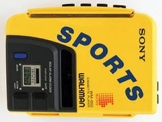 Not just any Walkman - it's the SPORTS edition.