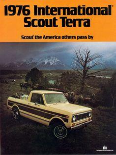 International Harvester Scout Terra Ad