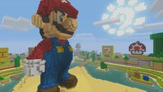 "Nintendo has announced that it's partnering with Microsoft (!!) to launch a 'Super Mario Mash-Up Pack' for Minecraft - launching on May 18 on the Wii U - ""in a match made in block-shaped heaven""."