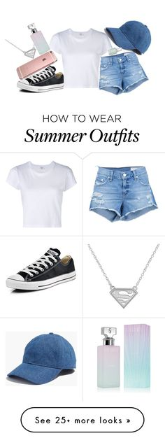 """outfit for 1 day of HIGH SCHOOL"" by fashion-is-passion23 on Polyvore featuring Converse, rag & bone/JEAN, RE/DONE, Madewell, Essie and Calvin Klein"