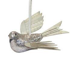 St. Nicholas Square Bird Christmas Ornament