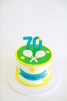 Tennis Theme Cake by Cake Bash Studio & Bakery, Lake Balboa CA