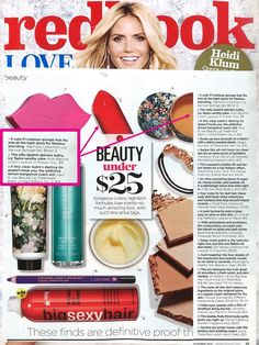 @redbookmag rounded up their fave beauty buys under $25 and featured our Beyond Color Lipstick Beyond Color Lipstick in Power Trip!