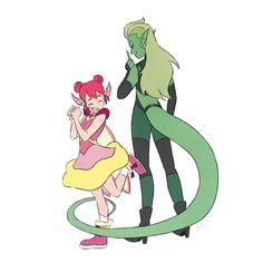 Sheila E, She Ra Princess Of Power, Double Trouble, Lol, Anime Kawaii, Owl House, Magical Girl, Adventure Time, Fan Art