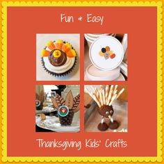 18+ fun & easy-to-make #Thanksgiving crafts for kids>> http://www.hgtv.com/handmade/thanksgiving-kids-crafts/pictures/index.html?soc=pinterest