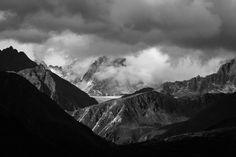 The Base Of Mt. Denali Alaska Surrounded