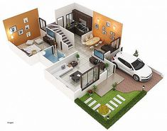 Duplex House Designs 1200 Sq Ft - Do you know Duplex House Designs 1200 Sq Ft has become the most popular topics on this category? 3d House Plans, Indian House Plans, Model House Plan, House Plans 3 Bedroom, House Layout Plans, Basement House Plans, Duplex House Plans, House Layouts, Small House Plans
