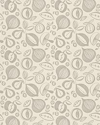 Portobello Ivory/Metallic från Sanderson
