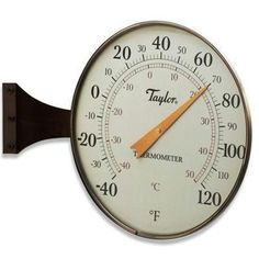 """8.5"""""""" Dial Thermometer Bronze"""