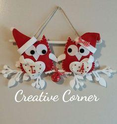 Fuori porta gufetti natalizi, by Creative Corner, 22,00 € su misshobby.com