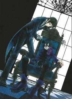 Sebastian x Ciel (Black Butler)