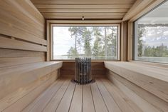 Incredible Palette Sauna Room For Winter Decoration 41 Sauna House, Sauna Room, Modern Saunas, Portable Sauna, Finnish Sauna, Swedish Sauna, Outdoor Sauna, Sauna Design, Steam Sauna