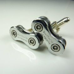 shimano ultegra bicycle chain cufflinks by velofy | notonthehighstreet.com