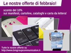 Le nostre offerte di febbraio 2014