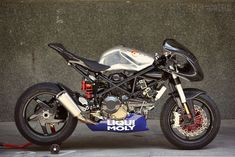 Ducati Monster 1100 Custom via Bike Exif.  I love this - looks like it's just waiting to be wheeled out on track. I suspect you might feel a bit stupid wobbling around in the novice group on it though...