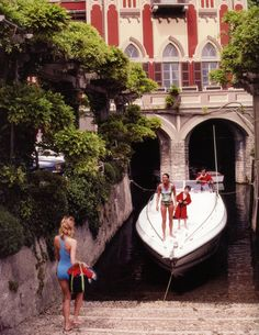 Tullio Abbate- Lake Como (photo: Slim Aaron's La Dolce Vita)