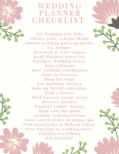 Simple Wedding Checklist Planner - Excited to share the latest addition to my shop: Simple Wedding Checklist Planner - Wedding Planner Checklist, Wedding Planning Binder, Wedding Planning On A Budget, Budget Wedding, Wedding Checklist Detailed, Wedding Checklists, Brides Checklist, Wedding Checklist Printable, Wedding Planners