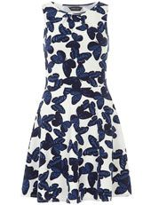 Tall butterfly pleat dress - click to view