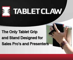 Universal Tablet Grip Stand: TabletClaw for the iPad - Blogcritics Sci/Tech